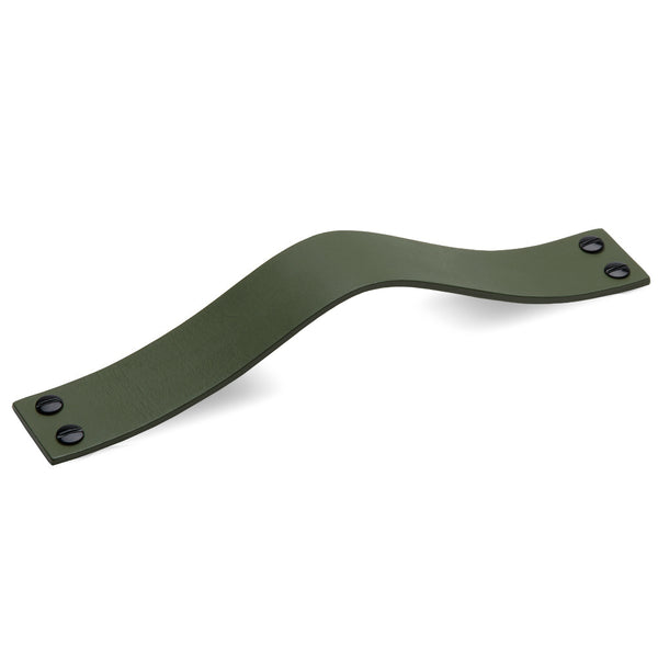 Leather 02 Handles | Olive
