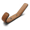 Leather Full Coat Hook | Saddle Tan