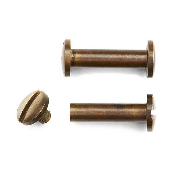 Interscrew | Aged Brass 20mm (Sold Individually)