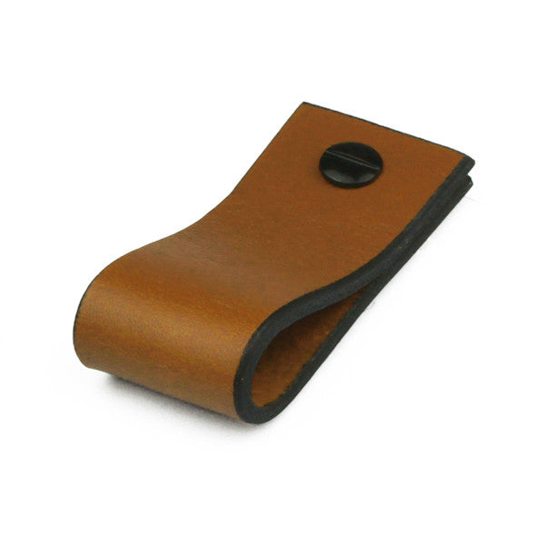 Leather Tab | Saddle Tan