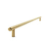 Brass Satin Slimline 01 | 392mm Length