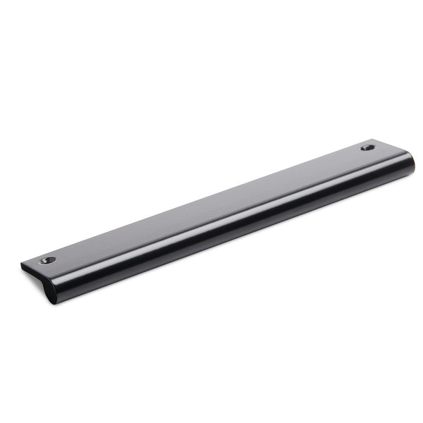 Metal Recessed Pull | Black Satin from