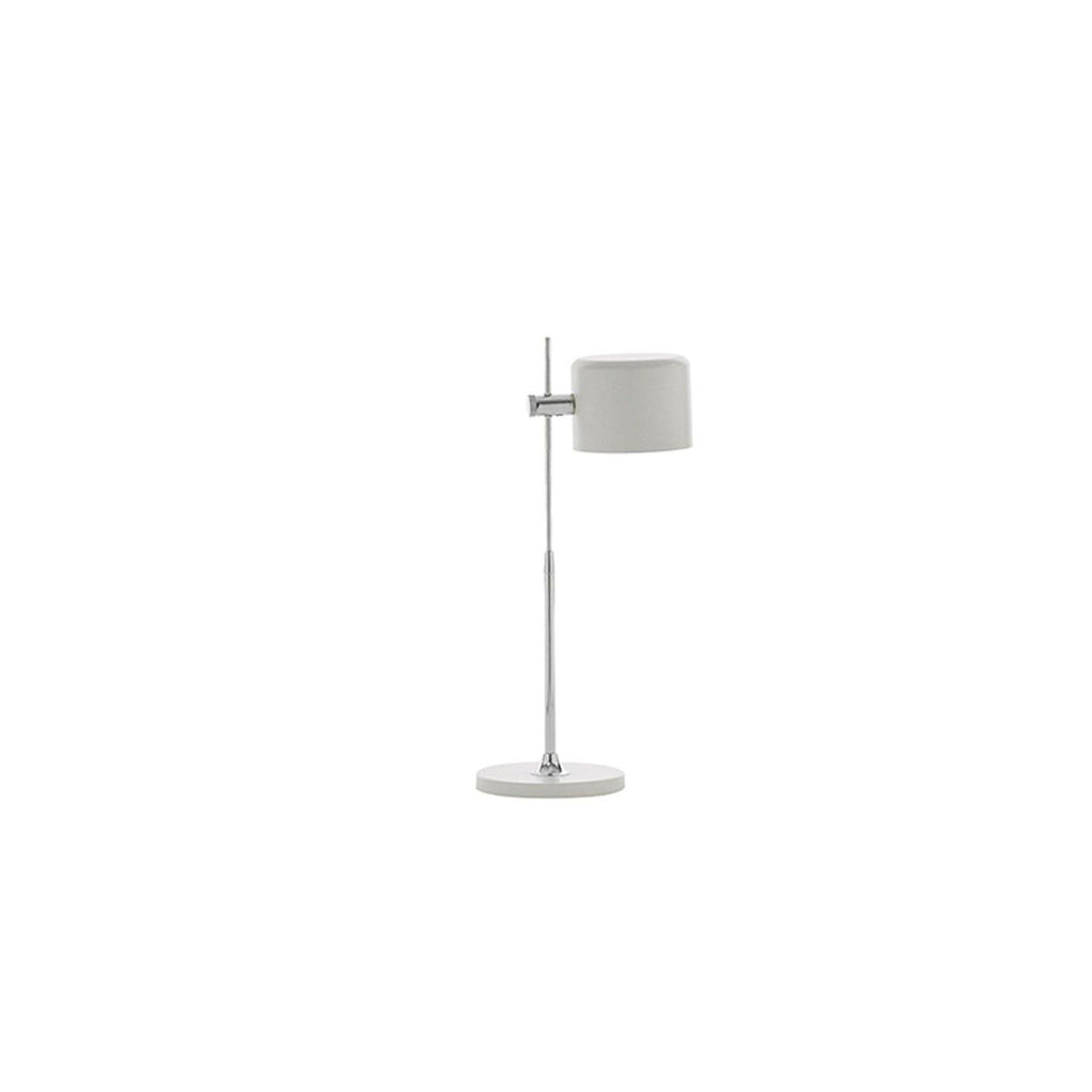 Crome Lamp Y:67,5 Cm - White - Enza Home Pakistan