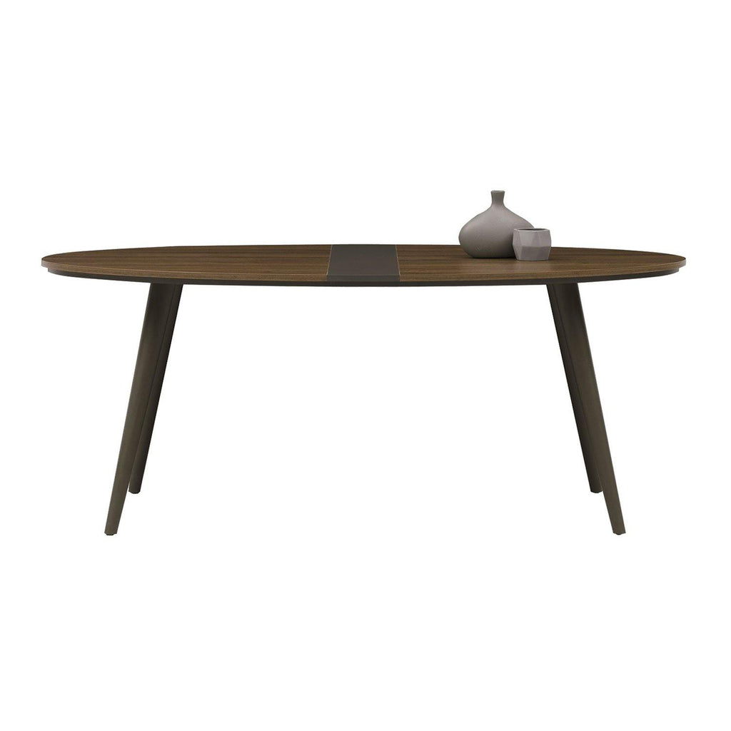 Good Rosa Dining Table - Oval form Enza Home Pakistan