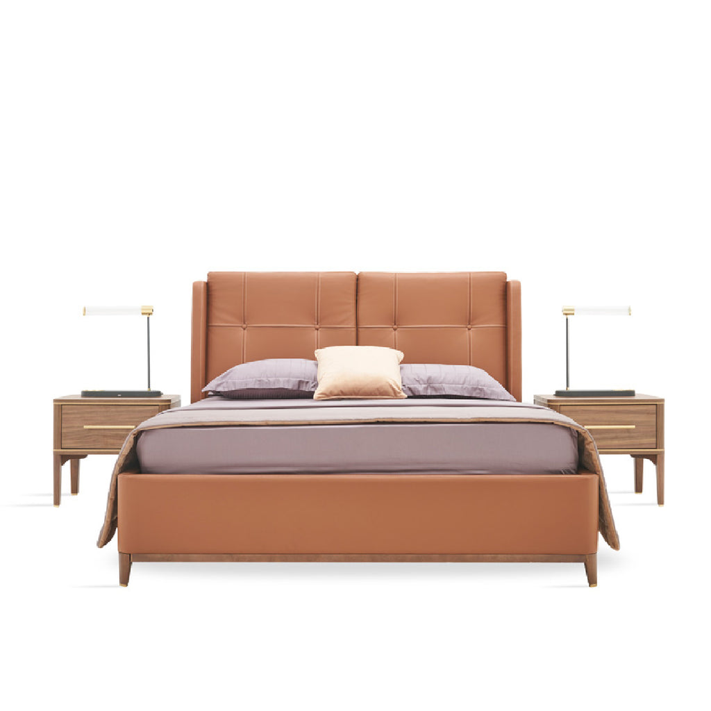 Raum Bed With Storage Online - Enza Home