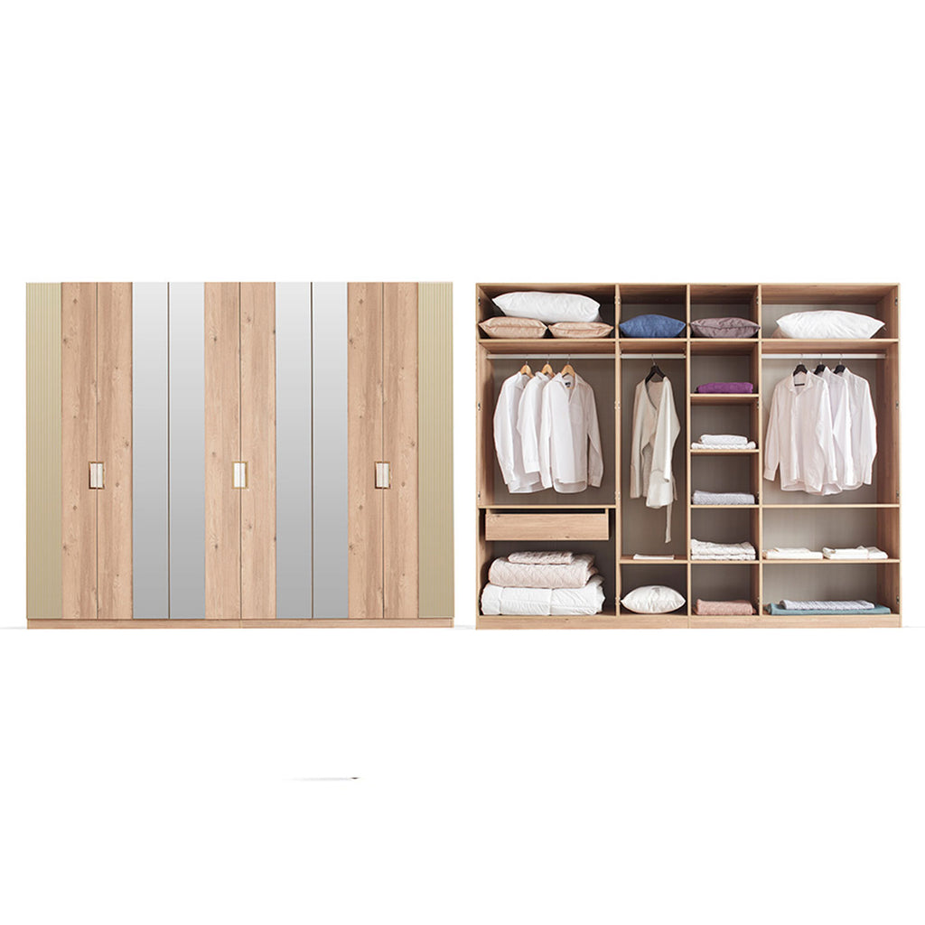 Best quality  Sona Wardrobe - 6 Doors for sale in Lahore , Pakistan