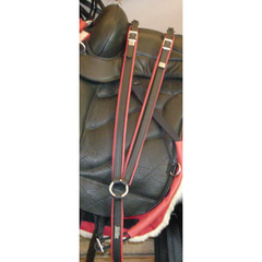 Sensation Ride Breastplate - Lined With Leather - Horse Gear Canada