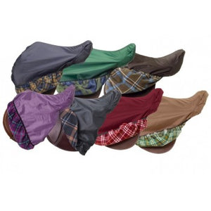 420D Waterproof Plaid Saddle Cover