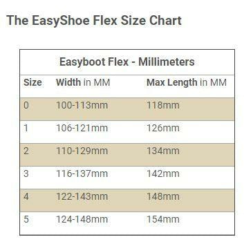 Easyshoe Flex Open Heel with Side Clips