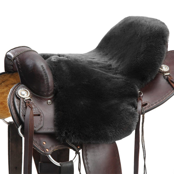 Endurance/Western Sheepskin Saddle Cushion - Deluxe