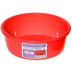 Plastic Feed Pan 5 Qt