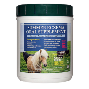 Summer Eczema Oral Supplement - Horse Gear Canada