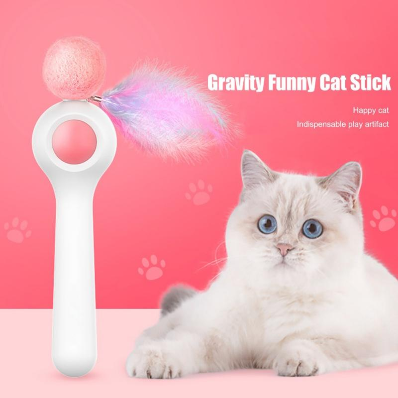 Automatic Telescopic Funny Cat Stick【40% off today】