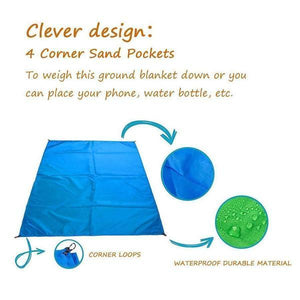 Sandproof Lightweight Beach Blanket