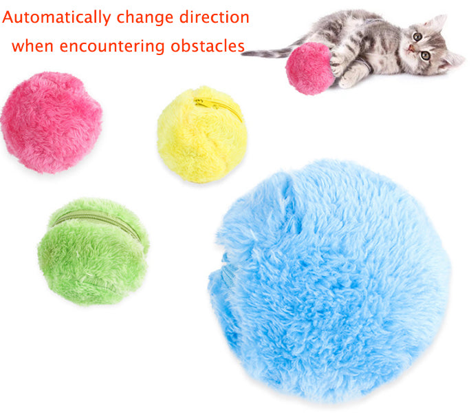 PET MAGIC ROLLER BALL TOY
