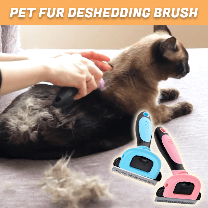 Pet Fur Deshedding Brush
