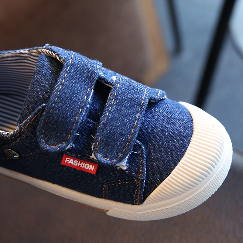 Super nice baby Denim canvas shoes(buy two free shipping)