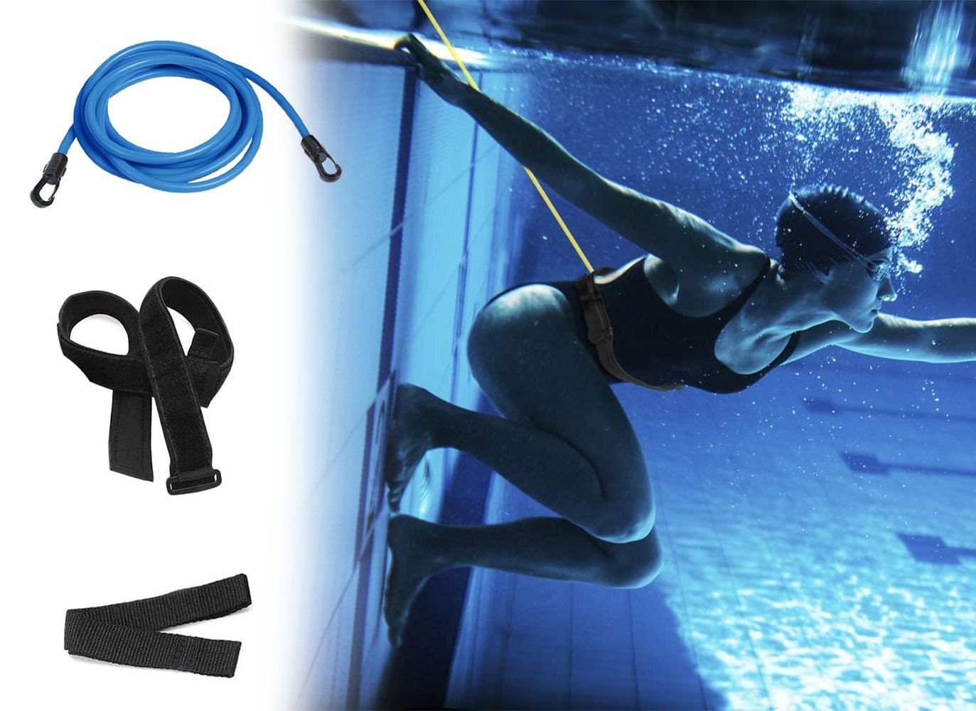 Bertram™ - SWIMMING TETHER BELT