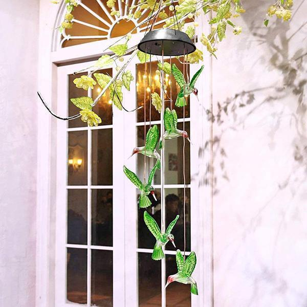 Solar-Powered Dangling Hummingbird Lights-Next Deal Shop-Next Deal Shop