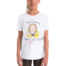 Load image into Gallery viewer, Fight Like Greta - Youth T-Shirt
