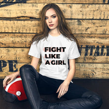 Load image into Gallery viewer, Girls are Not Weak - Woman T-Shirt