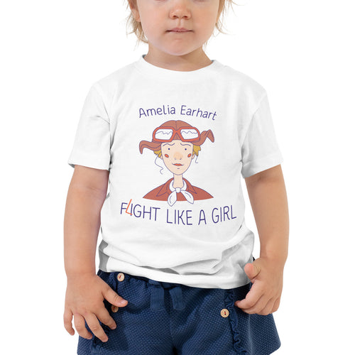 Fight Like Amelia - Toddler T-Shirt