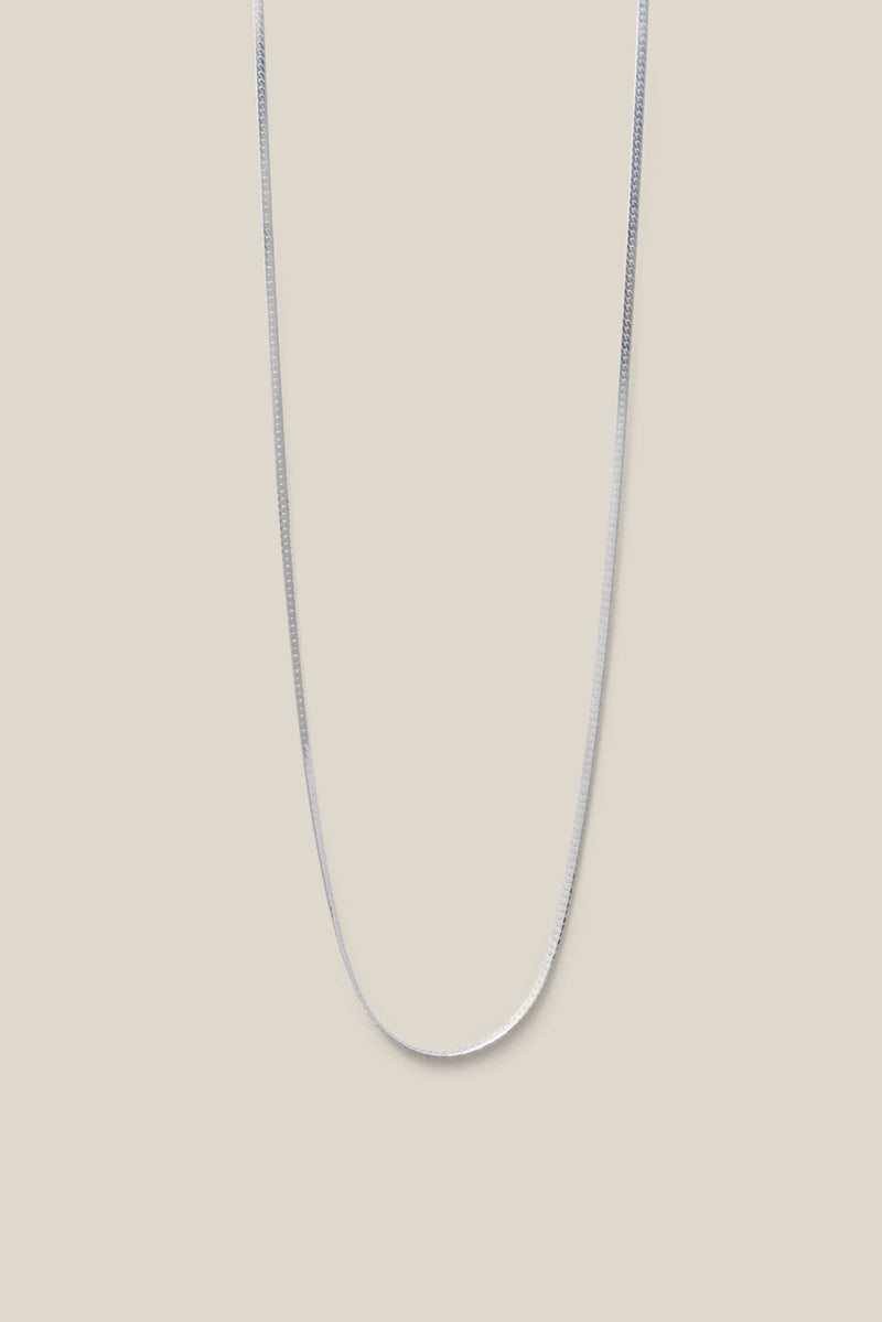 GINGER SILVER<br>(NECKLACE)