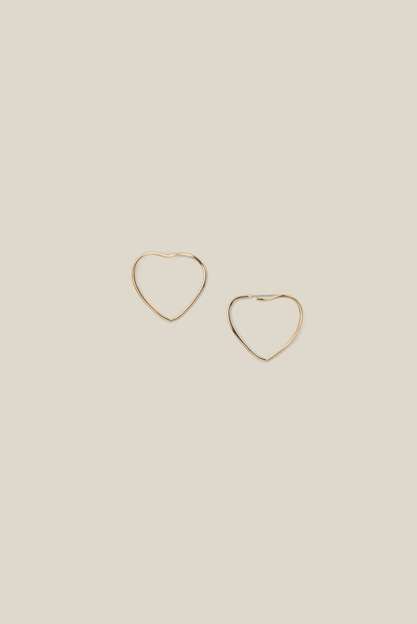 HEART HOOP GOLD (PIERCING)