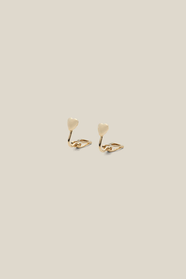 HEART MINI GOLD (EARRING)