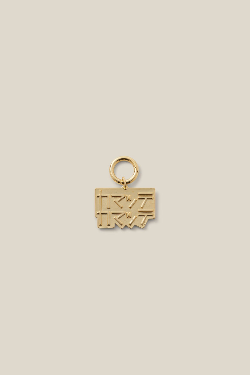 PLAY WITH ME GOLD (DOG CHARM)