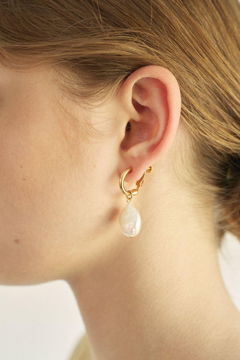 new year pearl set (earring)
