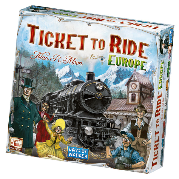 Ticket to Ride Europe - Het spel voor de beginner!