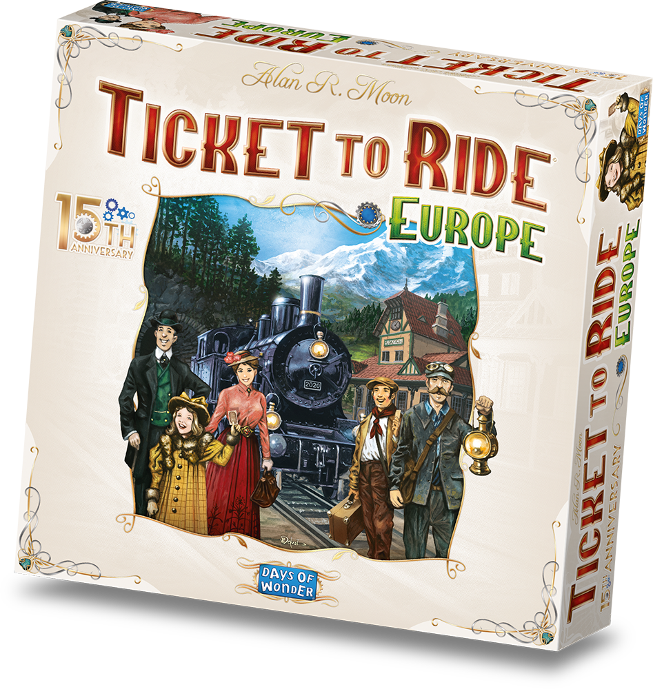 Ticket to Ride Europe 15th Anniversary (NL)