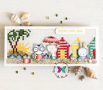 Cross-Stitch on Slimline cards?? YES PLEASE!