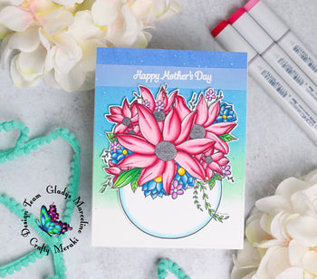 Mother's Day card by Gladys