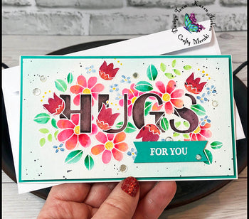 For You- mini slimline card by Karen