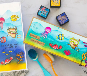 Best Fins! Gorgeous Summer cards with Juhi!