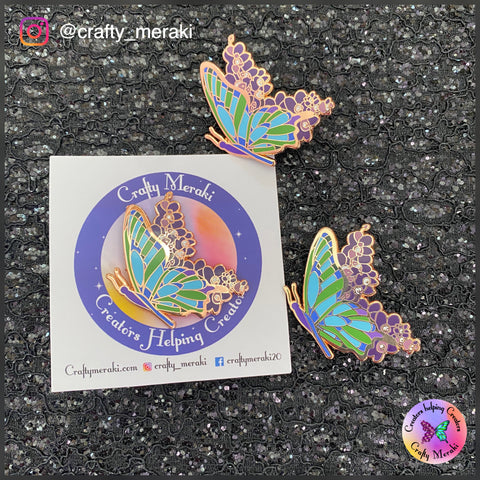 Crafty Meraki Enamel pin