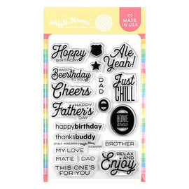 Waffle Flower Home Brew Stamp Set - Crafty Meraki