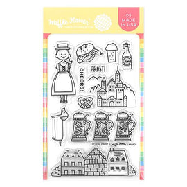 Waffle Flower Prost Germany Stamp Set - Crafty Meraki