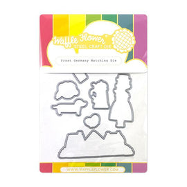 Waffle Flower Prost Germany Matching Die - Crafty Meraki