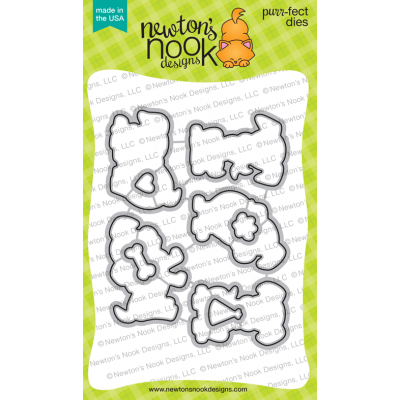 Newton's Nook Puppy Playtime Die Set - Crafty Meraki