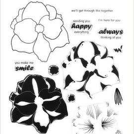 Altenew Amaryllis Stamp Set - Crafty Meraki