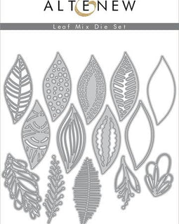 Altenew Leaf Mix Die Set - Crafty Meraki