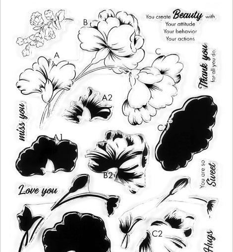 Altnew Sweet Flowers Stamp & Die Bundle - Crafty Meraki
