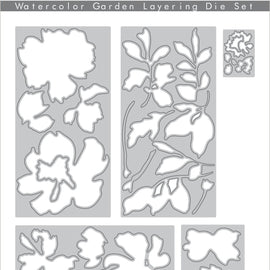 Altenew  Watercolor Garden Layering Die Set - Crafty Meraki