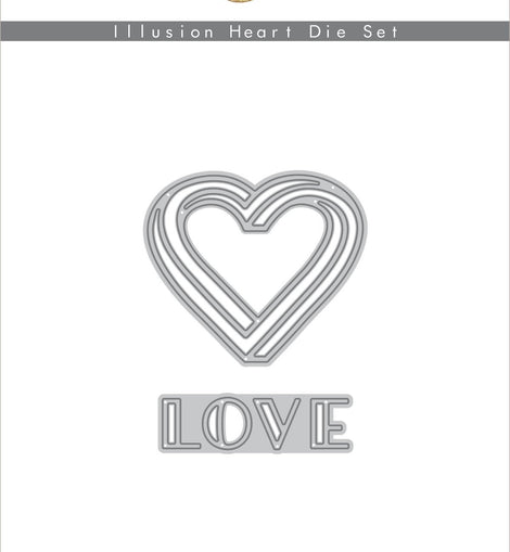 Altnew Illusion Heart Die Set - Crafty Meraki
