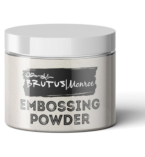 Brutus Monroe Ultra Fine Embossing Powder- Alabaster - Crafty Meraki
