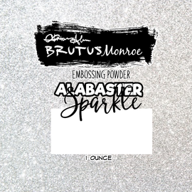 Brutus Monroe Alabaster Sparkle Embossing Powder - Crafty Meraki