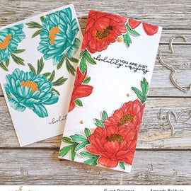 Altenew  Build-A-Flower: Hawaiian Coral Layering Stamp & Die Set - Crafty Meraki